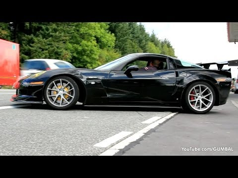 Modified Corvette C6 Z06 - Brutal Sounds!