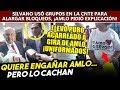 CNTE dijo que Silvano pidió a grupos de maestros seguir en paro. Obrador pidió explicaciones