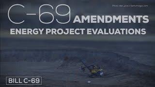 What amendments were rejected in bill C-69?