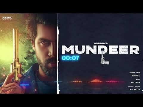 mundeer-by-singa-lyrical-video|latest-punjabi-song-2019|singaa-new-song-please-subscribe