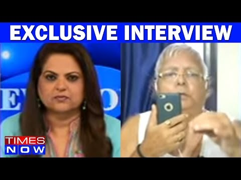 Lalu Prasad Yadav In An Exclusive Interview With Times NOW After The End Of Mahagathbandhan
