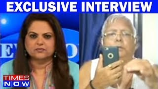 Baixar Lalu Prasad Yadav In An Exclusive Interview With Times NOW After The End Of Mahagathbandhan