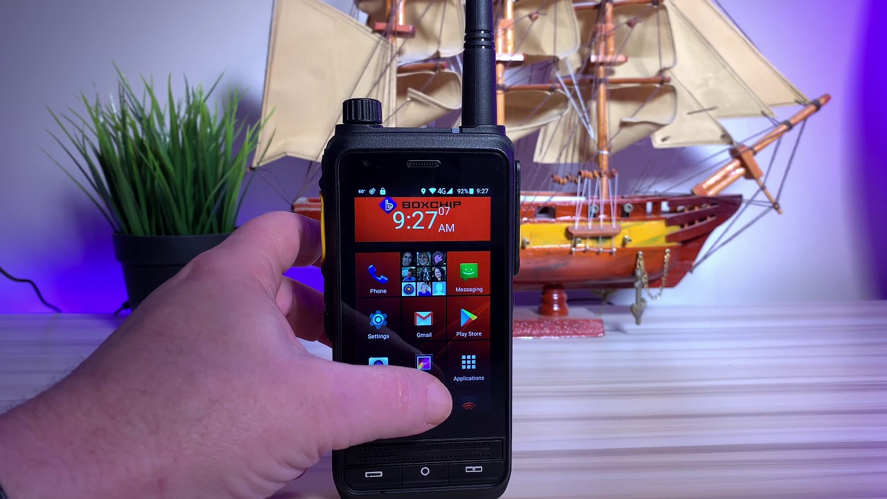 Boxchip S700A Network and DMR Radio 2019 Review