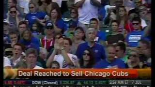 Deal Reach To Sell Chicago Cubs - Bloomberg