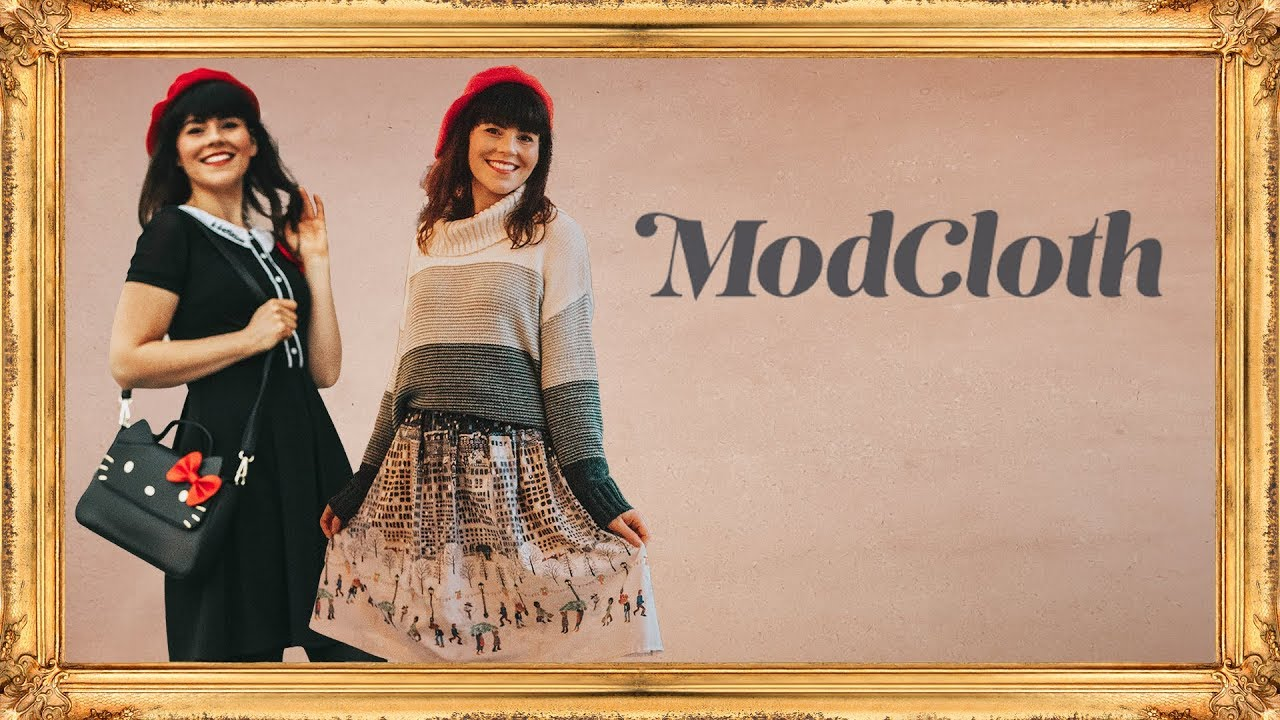 0a9eb38f90 MODCLOTH Try On Haul - November! - YouTube