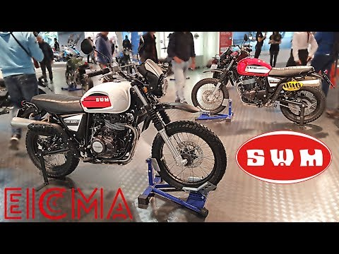 """ EICMA 2017 "" Visite du stand SWM"