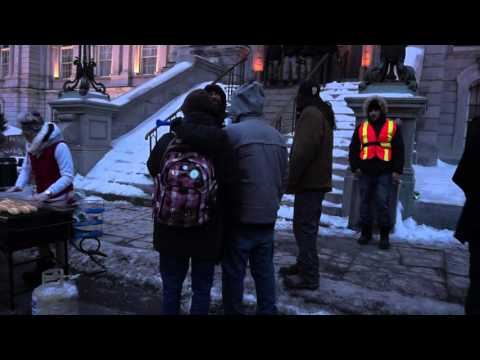 Montreal City Workers Barbecue Protest At City Hall 00005