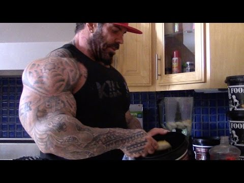 """BIGGER BY THE DAY - 29 - PAULO """"THE FREAK"""" - DESTROYING BACK - ADD 7TH MEAL - 305LBS"""