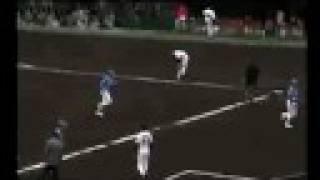 京都 西京極野球場で行われた巨人ー西武のオープン戦の模様をスタンドか...