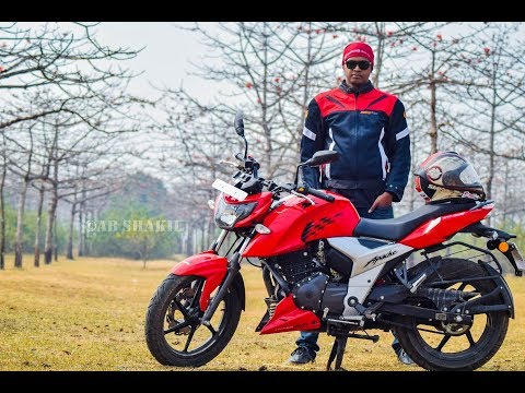 TVS Apache RTR 160 4V Test Ride Review in Bangla (Mileage, Top Speed, Braking, Vibration issue etc)