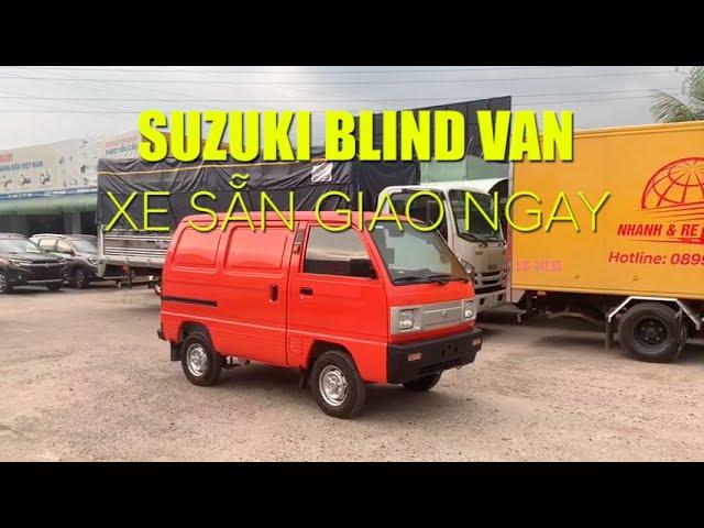 SUZUKI BLIND VAN xe sẵn giao ngay tại Ô TÔ MIỀN NAM