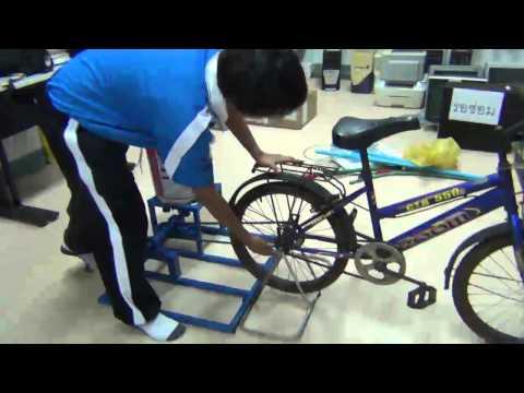 จักรยานปั่นผ้า