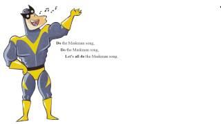 Song. Maskman song