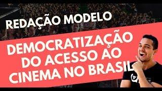 Gambar cover DEMOCRATIZAÇÃO DO CINEMA | COMENTÁRIOS + REDAÇÃO MODELO | ENEM 2019 | PROF. VINÍCIUS OLIVEIRA