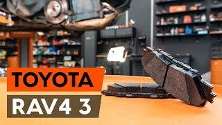 Πώς αντικαθιστούμε τακάκια εμπρόσθιοι φρένων σε TOYOTA RAV 4 3 (XA30) [ΟΔΗΓΊΕΣ AUTODOC]