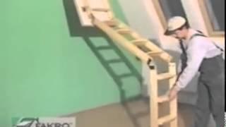Чердачная лестница FAKRO(, 2014-10-09T12:59:12.000Z)