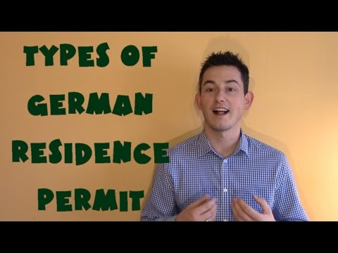 Germany #6 - Types of German residence permit (NAPISY PL)