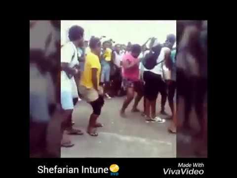 Vanuatu students public dance (Lycee School)