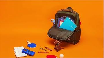 KANGOL kids, School Backpack Launching