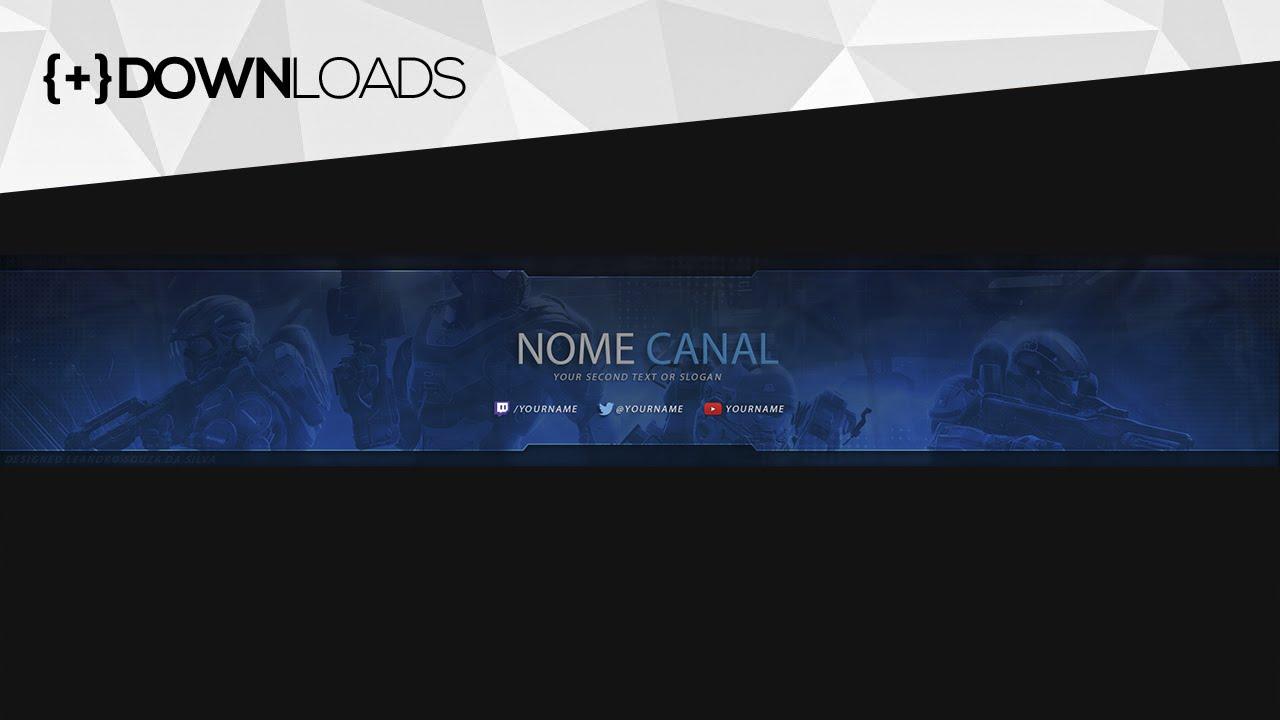 Capa De Youtube 2048x1152: Download CAPA Para Canais GAMERS Do YouTube GRÁTIS! #2