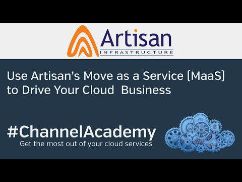 Use Artisan Move as a Service (MaaS) to Drive Your Cloud Bus