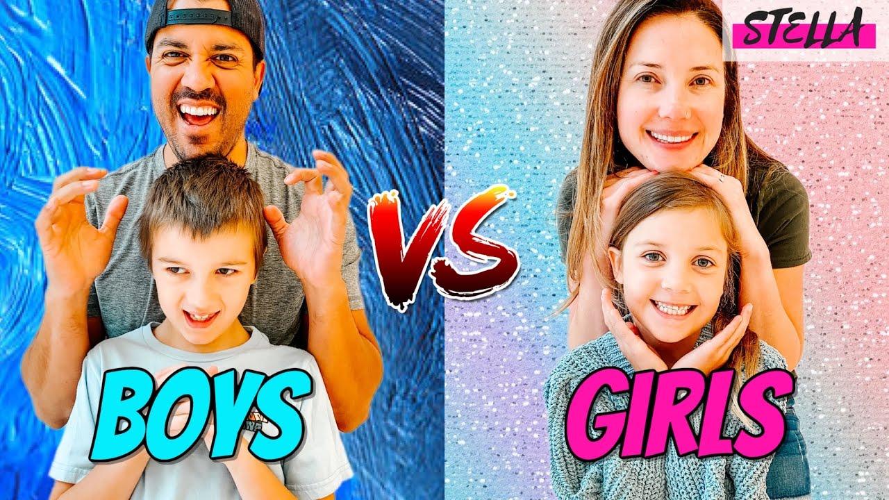 BOYS  vs GIRLS   Best Day EVER!!!