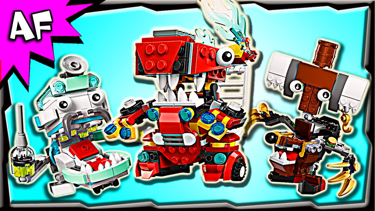 Lego Mixels series 8 Complete and New All 9 sets.