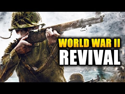 WORLD WAR 2 REVIVAL!  Battlefield 5 and Call of Duty in 2016 Talk Featuring Battalion 1944 Gameplay