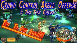 OP Crowd Control Arena Team & Test Your Defense - Might and Magic Elemental Guardian