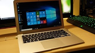 How to install Windows 10 on a MacBook (Without flash drive or a DVD Macbook air in this case)