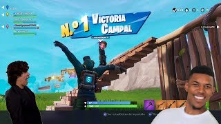 Victory with the cracks - Fortnite Battle Royal