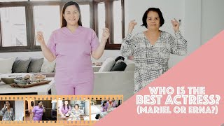 WHO IS THE BEST ACTRESS? [MARIEL OR ERNA???]