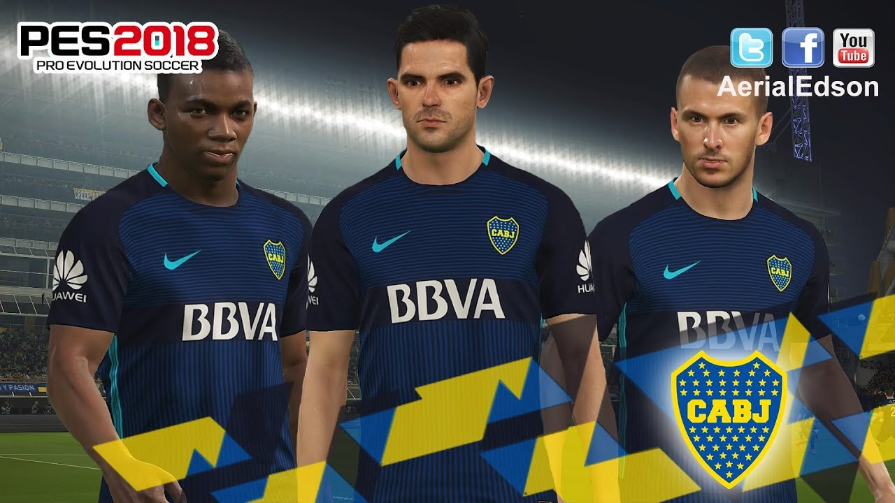 Boca Juniors Tercer Kit 2018