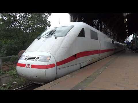 ICE 401 571-5  | Abfahrt | Station Hamburg Dammtor