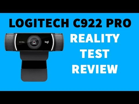 2f4a18db147 Logitech C922 Pro HD Stream Webcam: Unboxing, Installation and Setup on  Windows Linux and YouTube