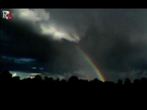 Rainbow Demons over RAF Northolt West London Oct 1st 2016