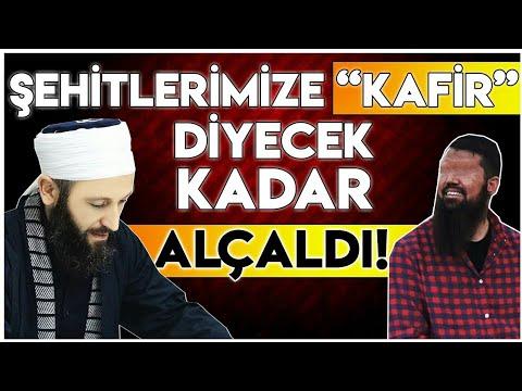 """EBU HARİS DENEN SAPIK, MAHMUT EFENDİ HZ.LERİNE """"MÜŞRİK"""", ŞEHİT ASKERLERİMİZE """"KAFİR"""" DEDİ!"""