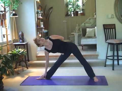 giselle's beginner yoga training  video 2 beginner series