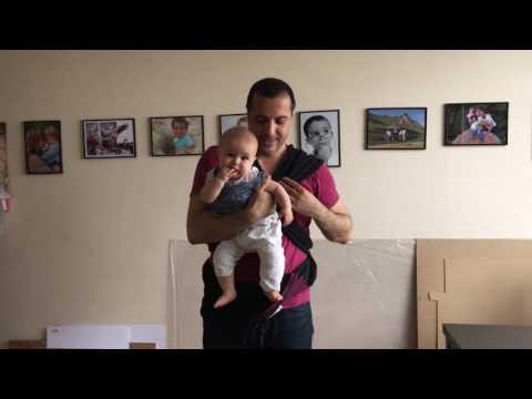 Comment mettre facilement une écharpe porte bébé