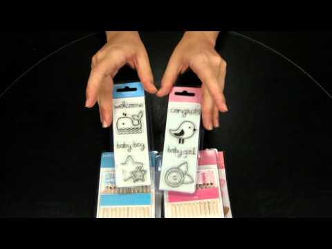 American Crafts - Pebbles - Baby Scrapbook Collection