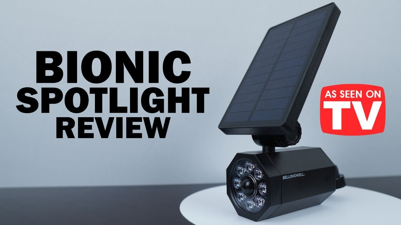Bionic Spotlight Review: Does it Work? * As Seen on TV *