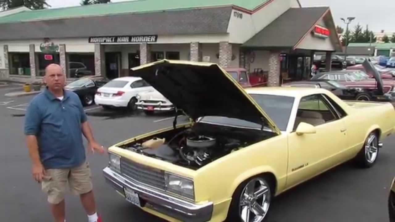 1980 Gmc Caballero El Camino Walk Around Youtube