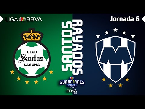 Santos Laguna Monterrey Goals And Highlights