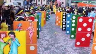 """I Grezz 2013 """"Operazione Domino"""" Corteo Naregna Biasca"""