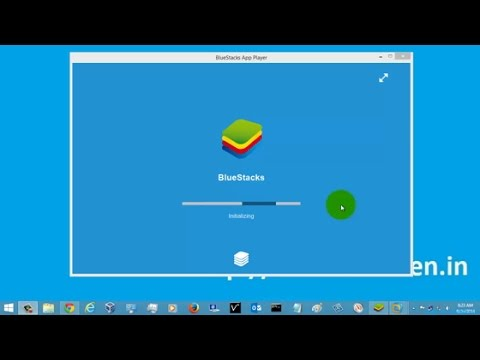 How to Run Android Apps In Pc -Bluestacks App Players.