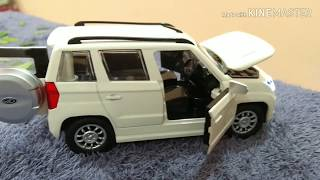 Unboxing Mahindra tuv 300 . unboxing toy car , unboxing Mahindra scale model