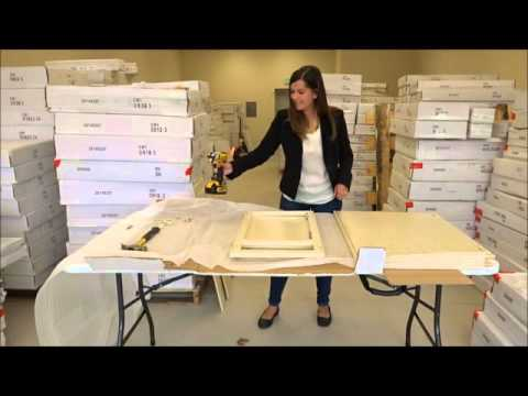 RTA Cabinet Assembly Video by Cabinet Mania with Monica