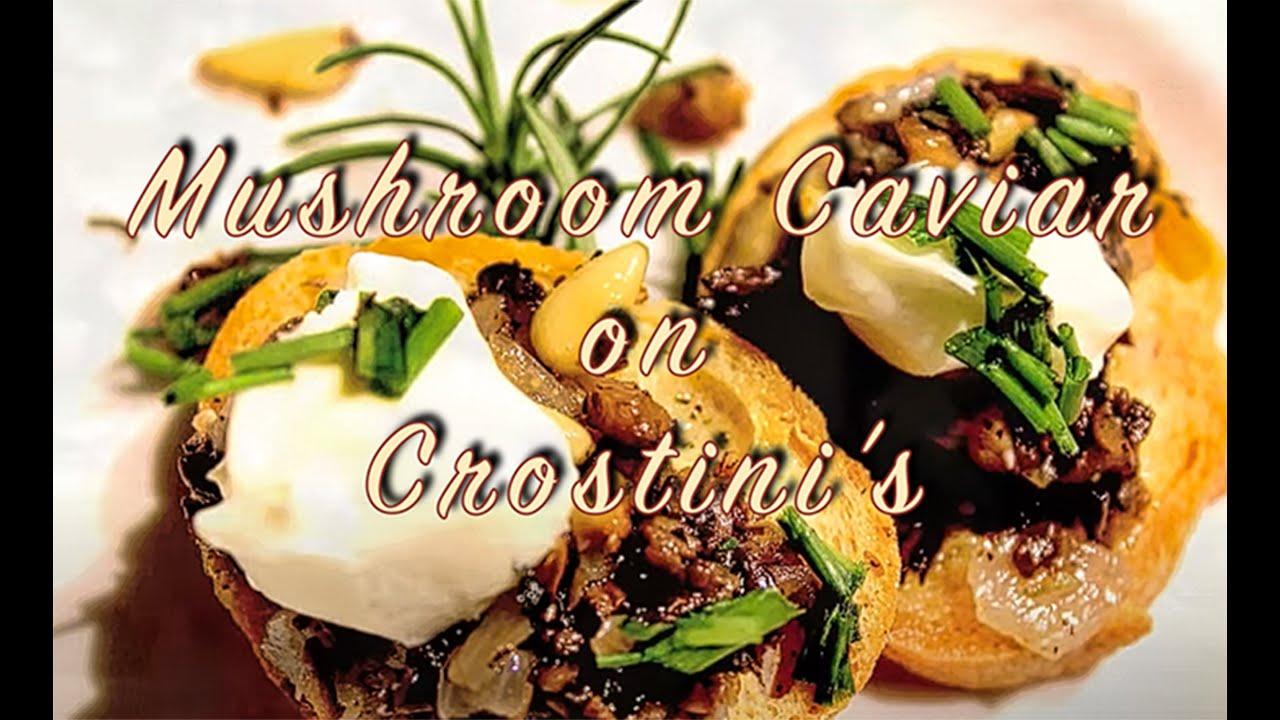 Mushroom Caviar - YouTube