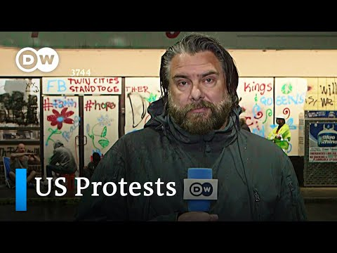 US Protests: Memorial Service For George Floyd +++ Trump Threats Rebuked   DW News