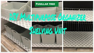 DOLLAR TREE DIY ORGANIZER WIRE SHELVING UNIT SHOE RACK MULTIPURPOSE FOR SMALL SPACES DORMS